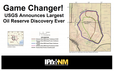 USGS Announces Biggest Oil Discovery Ever! It's in NM!