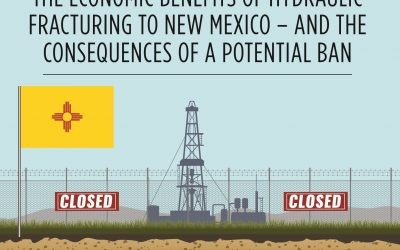 Fracking Ban in NM would kill 142,000 jobs, $86B in GDP & $8B in Tax Revenue